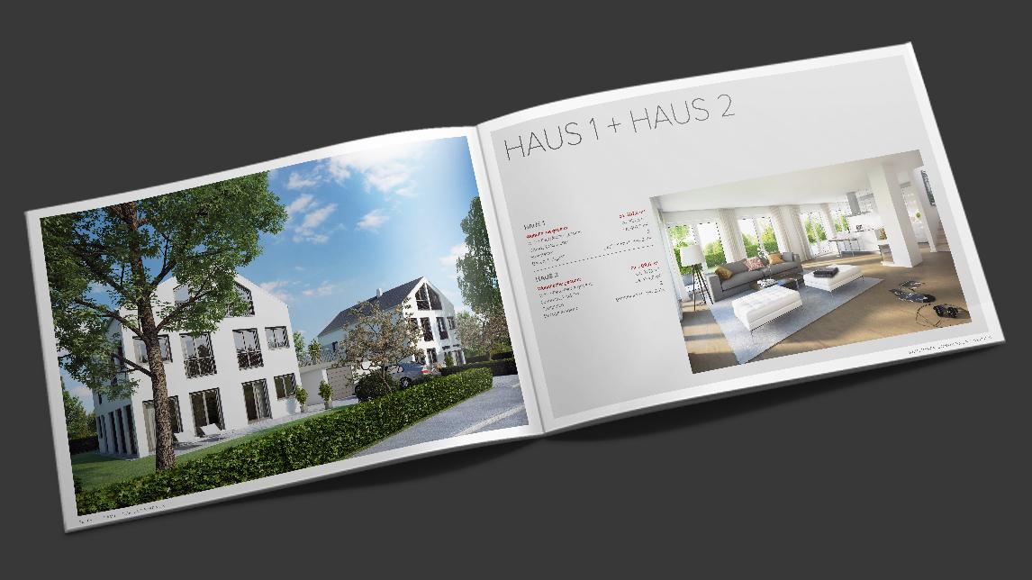 Broschüren Design München von Jan Möltgen, Grafikdesigner für Robac Bauträger