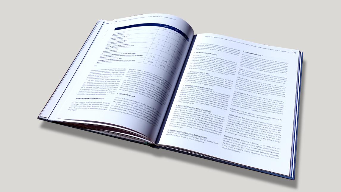 Tagungsband Buch Design München von Jan Möltgen, Grafikdesigner für das Tax Audit Forum Munich
