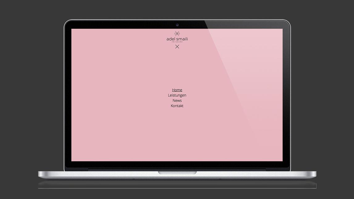 Webdesign München von Jan Möltgen, Grafikdesigner für Adel Smaili Friseure