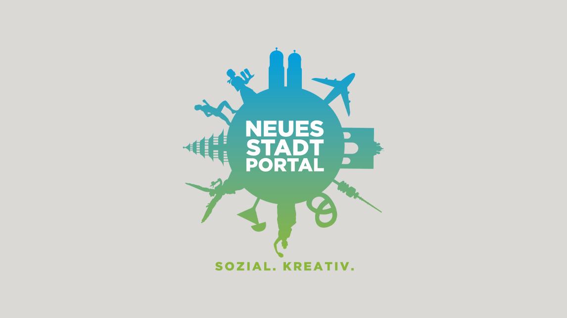 Logo Design München von Jan Möltgen, Grafikdesigner für das neue Stadtportal München