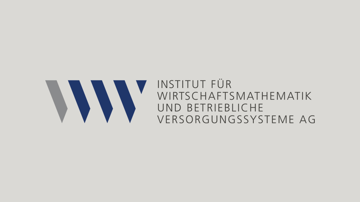 Firmenzeichen Design München von Jan Möltgen, Kommunikationsdesigner für das IWV Institut