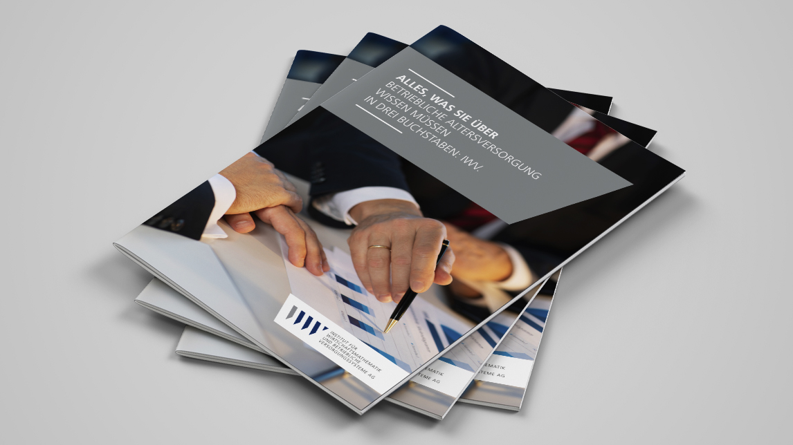 Broschüren Design von Jan Möltgen, Grafikdesigner für das IWV Institut in Zorneding bei München.jpg
