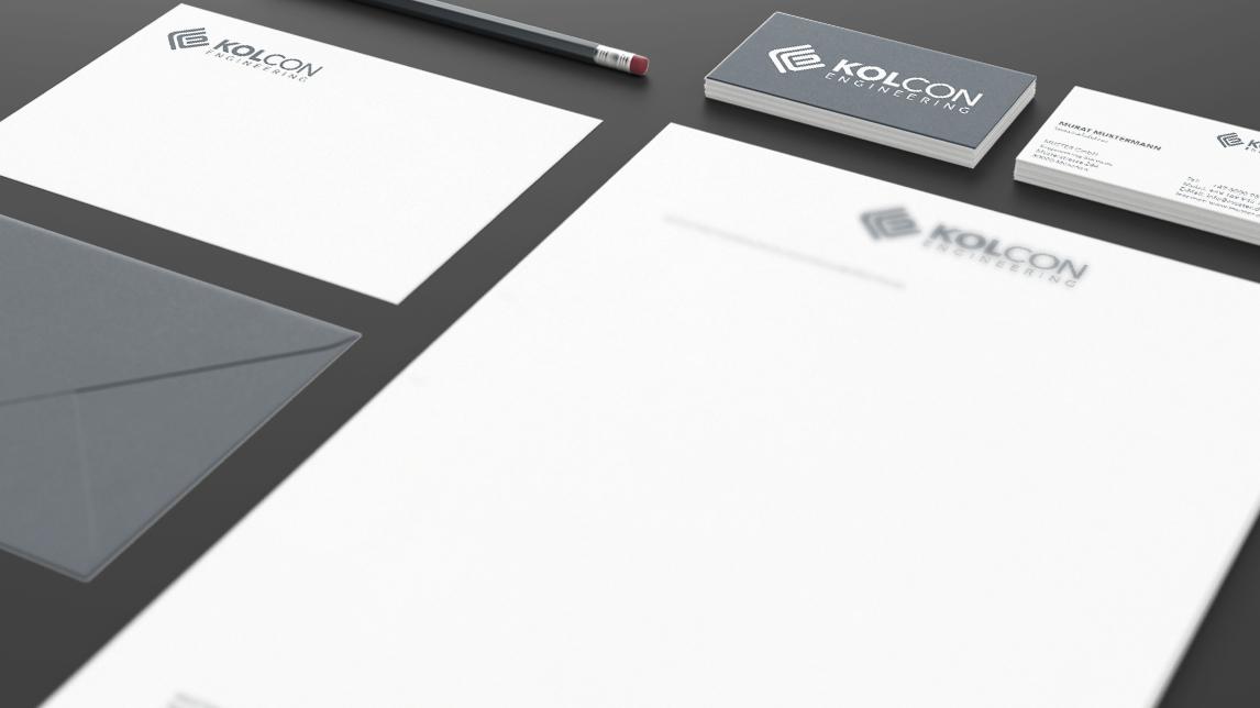 Corporate Design München von Jan Möltgen, Grafikdesigner für Kolcon Engineering