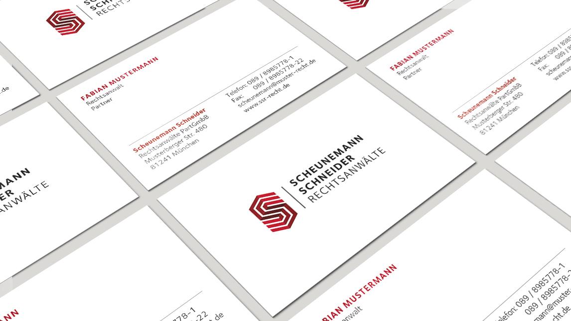 Corporate Design für Scheunemann und Schneider Rechtsanwälte