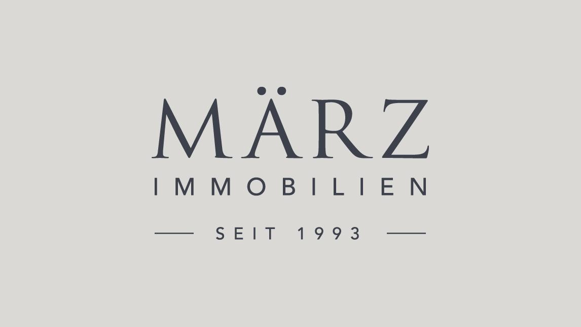 Logo Design München für März Immobilien