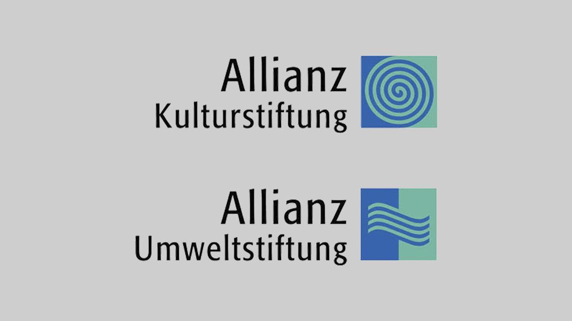 Logo Design München für Allianz Kulturstiftung und Umweltstiftung