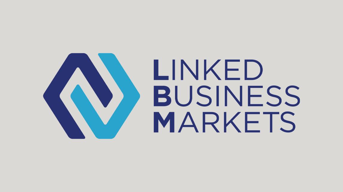 Firmenzeichen Design München von Jan Möltgen, Kommunikationsdesigner für das Linked Business Markets